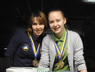 Вика Нагорная и Катя Половинчук